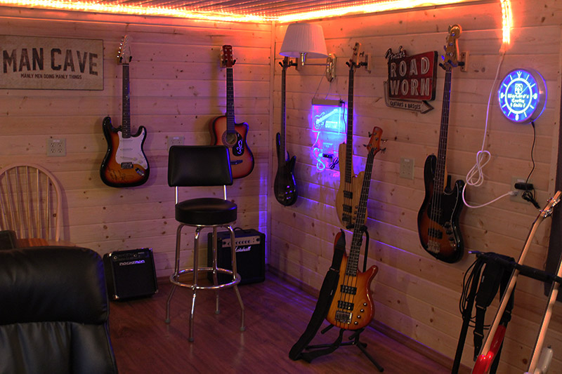 My favorite space... Guitar Corner.